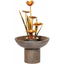 Laghetto Outdoor Resin Tiered Fountain