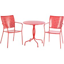 Martini 3 Piece Bistro Set I