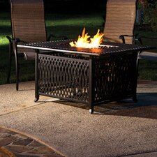 Pescara Aluminum Gas Fire Pit Table