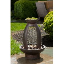 Pioggia Outdoor Resin Urn Fountain