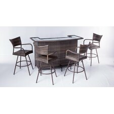 Tutto 5 Piece Bar Set