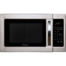 1 Cu. Ft. 1000W Countertop Microwave in Stainless Steel