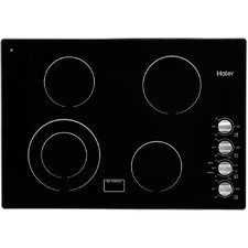 """30.25"""" Dual Fuel Cooktop with 4 Burners"""
