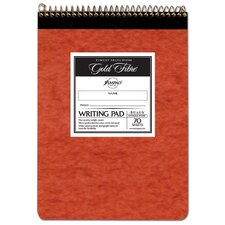 "8-1/2"" x 11-3/4"" 70 Sheet Wide Rule Writing Pad in Ivory"