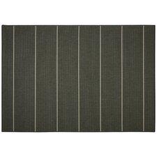 Palmetto Grey Stripe Indoor/Outdoor Area Rug
