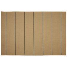 Palmetto Natural Stripe Indoor/Outdoor Area Rug