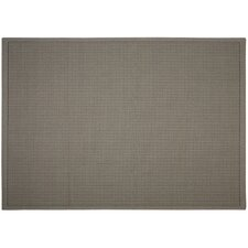 Sea Oats Grey Solid Indoor/Outdoor Area Rug