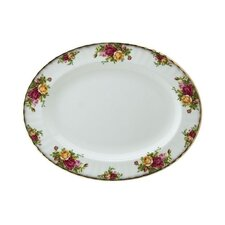 Old Country Roses Oval Platter