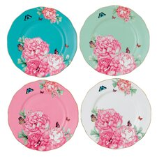 "Miranda Kerr Friendship 8"" Accent Plate 4 Piece Set"