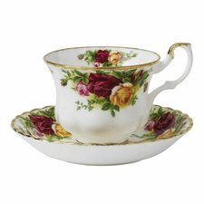 Old Country Roses 6.5 oz. Teacup and Saucer