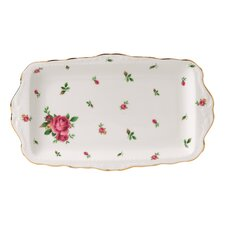 New Country Roses Formal Vintage Rectangular Serving Tray