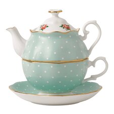 New Country Roses 2 Piece Teapot Set