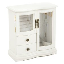 Classical Two Dual Case Jewelry Box