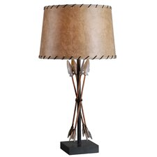 "Bound Arrow 29.5"" H Table Lamp with Empire Shade"