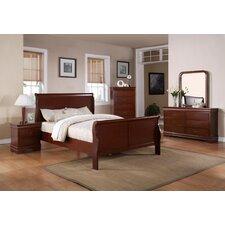 Louis Phillip Sleigh Customizable Bedroom Set