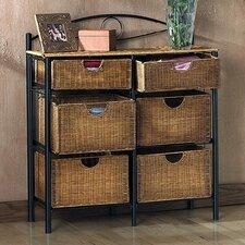 Ferrosilicon 6 Drawer Storage Chest