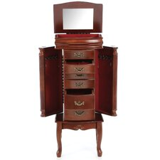 Riverhead Jewelry Armoire with Mirror