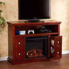 Faulkner TV Stand with Electric Fireplace