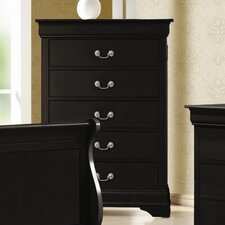 Carbon 5 Drawer Chest