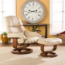 Standard Recliner and Ottoman