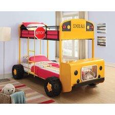 Schoolbus Twin Over Twin Bunk Bed