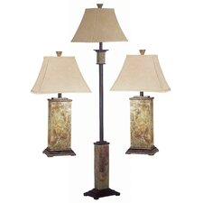 "Bennington Lamp Set 29"" H Table Lamp with Empire Shade"