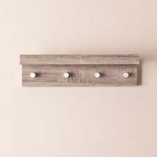 Alex Wall Mount Shelf with Hangers