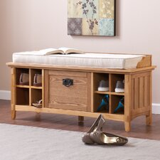 Arianna Artisan Storage Entryway Bench