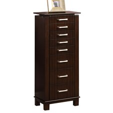 Champion Jewelry Armoire with Mirror