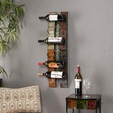 Catania 6 Bottle Wall Mounted Wine Rack