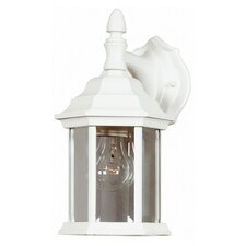 Custom Fit 1 Light Wall Lantern