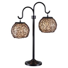 """Outdoor Regina 27"""" H Table Lamp with Sphere Shade"""