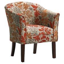 Floral Club Chair