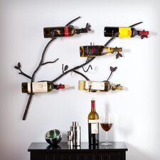 Kerrigan 6 Bottle Wall Mount Wine Rack
