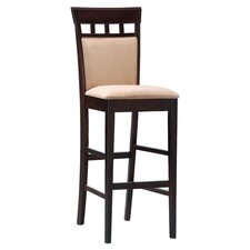 "Derby 30"" Bar Stool with Cushion (Set of 2)"