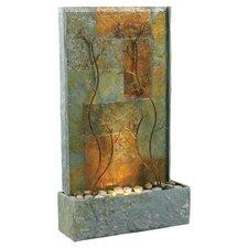 Copper Vines Slate Floor Fountain