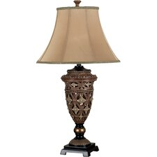 """Sophie 19"""" H Table Lamp with Bell Shade"""