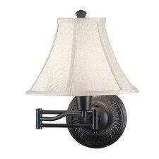 Amherst 1 Light Swing Arm Wall Lamp