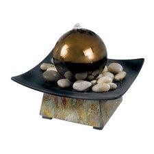 Hillsborough Sphere Indoor Table Fountain