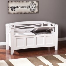 Cayman Wood Storage Bench