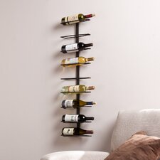 Howard 9 Bottle Wall Mount Wine Rack