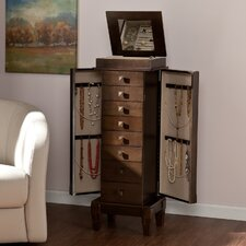 Marian Jewelry Armoire with Mirror
