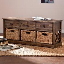 Bourke Wood Storage Bench