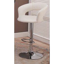 Colorado City Adjustable Height Bar Stool with Cushion
