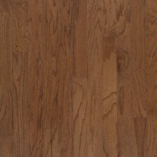 "3"" Engineered Red Oak Hardwood Flooring in Bark"