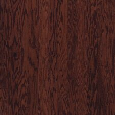 "5"" Engineered Red Oak Hardwood Flooring in Cherry Spice"