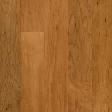 "5"" Engineered Cherry Hardwood Flooring in Sugared Honey"