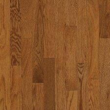 "2-1/4"" Solid Oak Hardwood Flooring in Gunstock"