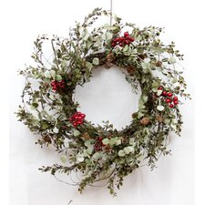 Country Eucalyptus and Berry Wreath