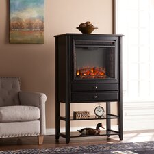 Maldonado Corner Convertible Electric Fireplace